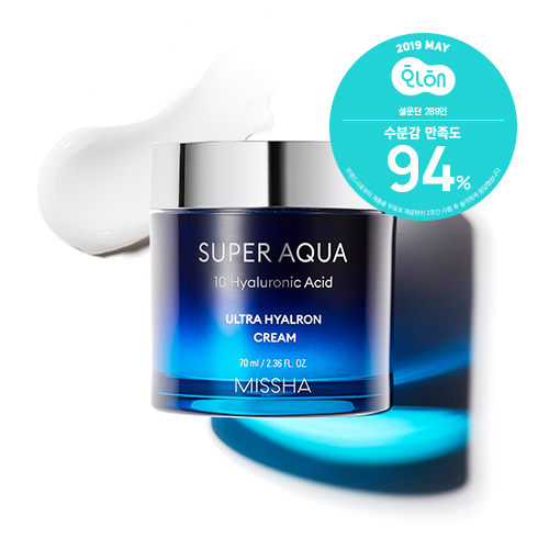[MISSHA] Super aqua Ultra Hyalron Cream (70ml)