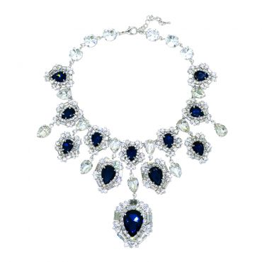 MINWHEE ART JEWELRY - The Dignity of The Queen, Sapphire necklace
