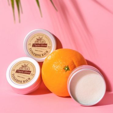 Jeju Natural Shea Butter Tangerine Multi Balm 20ml