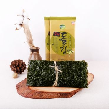 Badasori - Seasoned Dol Gim laver seaweed snack 9g*25pack(Half size 6 sheets * 25pack)