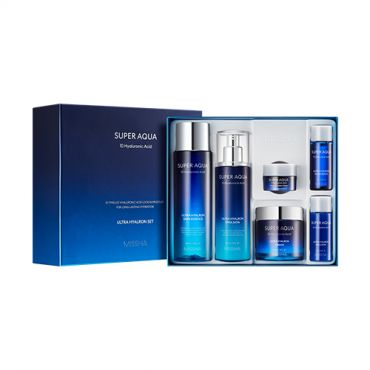 [MISSHA] Super Aqua Ultra Hyalron 3 Step Gift Set