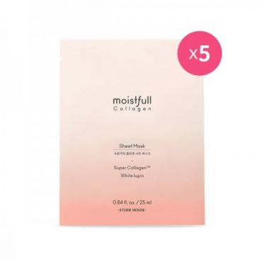 [ETUDE HOUSE] Moistfull Collagen Sheet Mask (25mlx5ea)