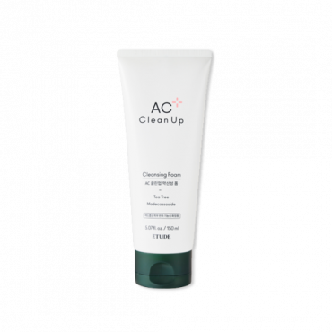 [ETUDE HOUSE] AC Clean Up Cleansing Foam 2020 renewal ver. (150ml)