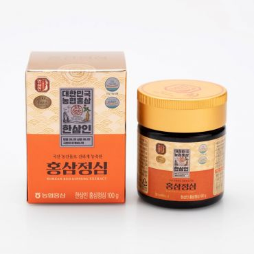 [HANSAMIN] Korean Red Ginseng extract HEART (100g)