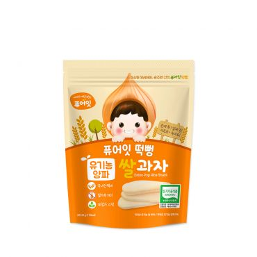 Organic Onion Pop Rice Snack (30g)