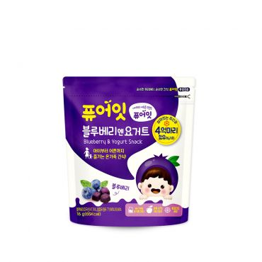 [NAEBRO] PURE-EAT Blueberry &Yoghurt Snack (16g)