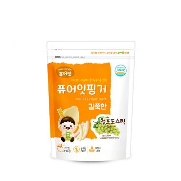 [NAEBRO] PURE-EAT Finger Brown Rice Green Grape Stick(6P) (30g*6)