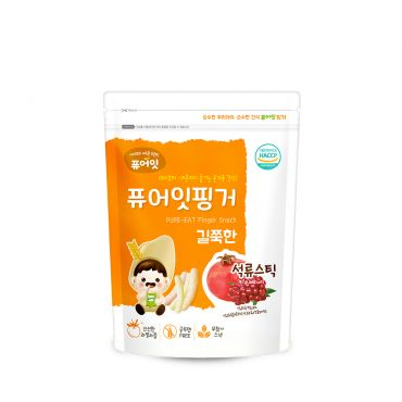 [NAEBRO] PURE-EAT Finger Brown Rice Pomegranate Stick(6P) (30g*6)