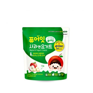 [NAEBRO] PURE-EAT Apple & Yoghurt Snack(6P) (16g*6)