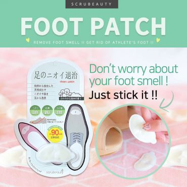 [SCRUBEAUTY] SHOES FOOT  PATCH (1pair)