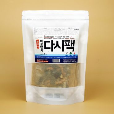 Seafood & Anchovy Dashi Pack_16g x 10ea