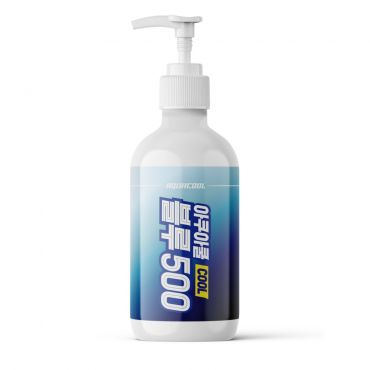 AQUACOOL - BLUE 500 Sports Recovery Cooling Gel 500ml (16.9oz)