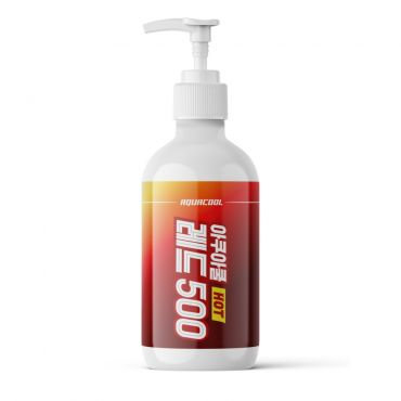 AQUACOOL - RED 500 Heat Therapy Gel 500ml (16.9oz)