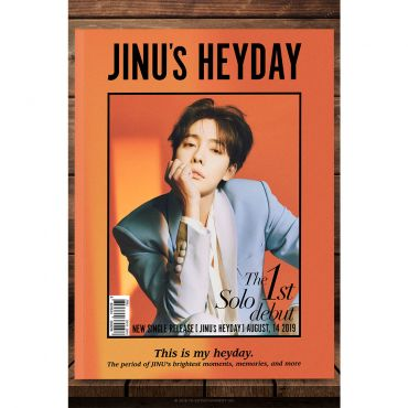 Pre-order [WINNER : JINU] 1st Single Album - JINU's HEYDAY (SET : A +B Ver.)