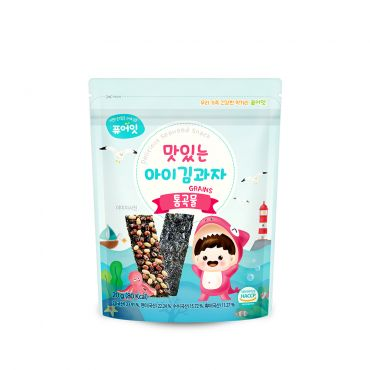 [NAEBRO] PURE-EAT Delicious Seaweed Snack Grains (20g)
