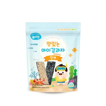 [NAEBRO] PURE-EAT Delicious Seaweed Snack Sesame(6P) (20g*6)