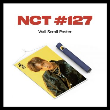 pre-order [NCT 127] - Wall Scroll Poster (Haechan ver)