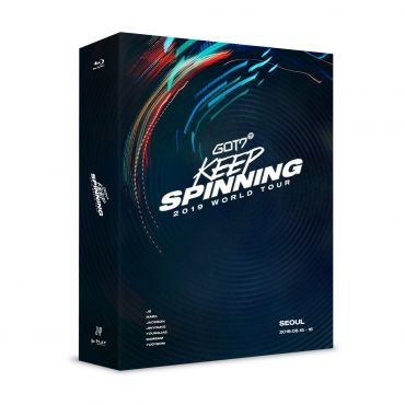 Pre-order [GOT7] - GOT7 2019 WORLD TOUR 'KEEP SPINNING' IN SEOUL BLU-RAY