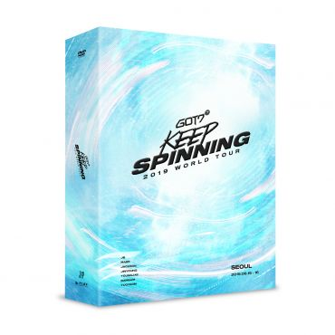 Pre-order [GOT7] - GOT7 2019 WORLD TOUR 'KEEP SPINNING' IN SEOUL DVD