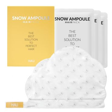 HAU-SNOW AMPOULE HAIRPACK 30ml x 3ea