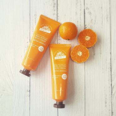 Jeju Tangerine Natural Shea Butter Hand Cream 70ml