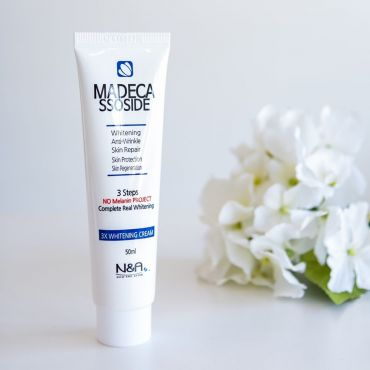 NOW AND AFTER - Madecassoside 3x Whitening Cream 50mL