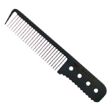 "[Mijjang] Carbon Ceramic Hair Cutting Comb 703 (17.5cm 6.8"")"