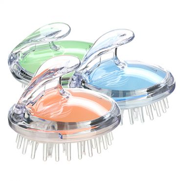 [Mystique Korea] Scalp Massage Silicon Shampoo Brush (1ea)