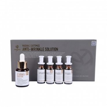 [Nuganic] Nuganic Customize Anti-Wrinkle Solution (Essence 30ml & Ampoule 10ml x 4ea)