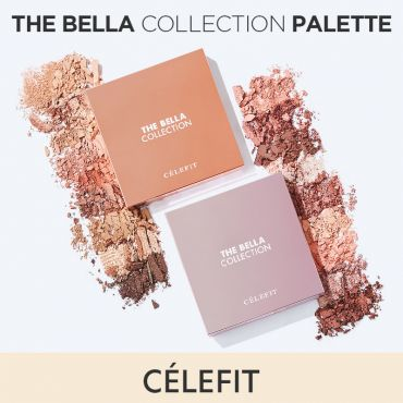 CELEFIT The Bella Collection Eye shadow Palette 17g