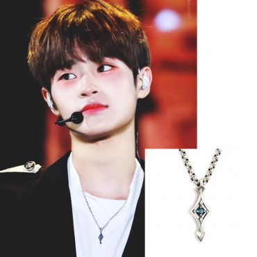 [STERLINGWORTH]  Fallin-M Necklace ( wanna One / exo )