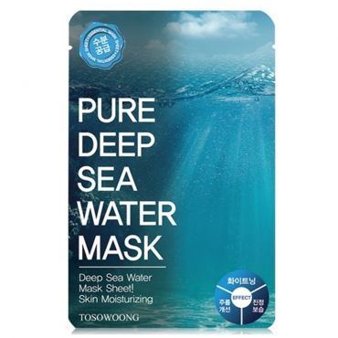 TOSOWOONG Pure Deep Sea Water Mask 10pcs