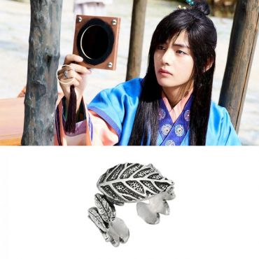 MINWHEE ART JEWELRY - Hwalang, Leaves Ring / Free Ring