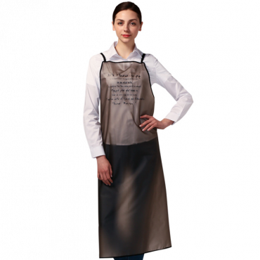 [Yodel] MD357 Semitransparent Hair Salon Apron(108cm Long)