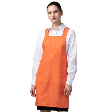 [Yodel] YA076 Siroda Hair Salon Apron (Orange)