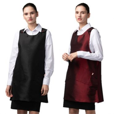 [Yodel] YA077 One-Pieced Dress Style Hair Salon Apron (2 Colors / 2 Size Options)