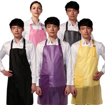 [Yodel] YA084 Mesh Semitransparent Hair Salon Apron (5 Colors)