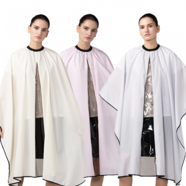 [Yodel] YC004 Smart Transparent Hair Salon Cut Cape (3 Colors)