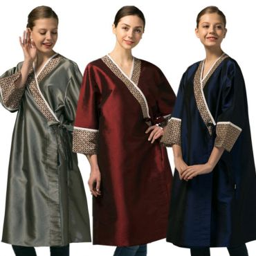 [Yodel] YG012 Signature Pattern Hair Robe (3 colors)