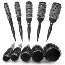 [Mystique Korea] Ceramic Hot Curling Round Roll Brush