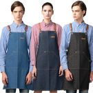 [Yodel] YA106 Lux Denim Jean Hair Salon Apron
