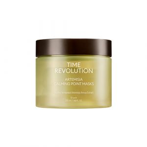 missha-TIME REVOLUTION ARTEMISIA CALMING POINT MASKS 225ml / 50p