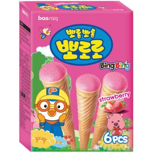(1+1)[Pororo] Ice Cone Snack (Strawberry)