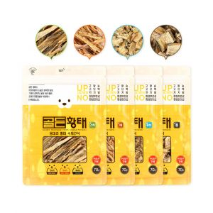Humming Pet - Golden Pollack Pet Snack SET (70g*4)
