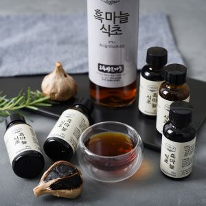 O-Gok Federation Village_Black Garlic Vinegar Korean Vinegar Garlic Vinegar