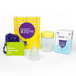 [LunaCup] Menstrual Cup suitable for a beginner, Lunacup 25ml Lage Size
