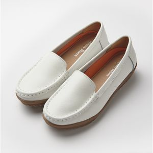 SIMPLE COMFORT LOAFER 1103 WHITE