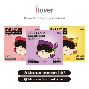 ILOVER Steam Warm Eye mask korea 10pcs  unscented, lavender, citron choice