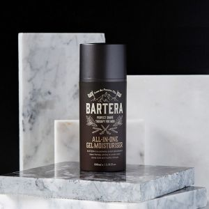 BARTERA-ALL-IN-ONE Gel Moisturiser 100ml / MEN'S SHAVING&SKINCARE