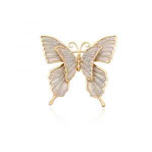 MINWHEE ART JEWELRY - butterfly brooch